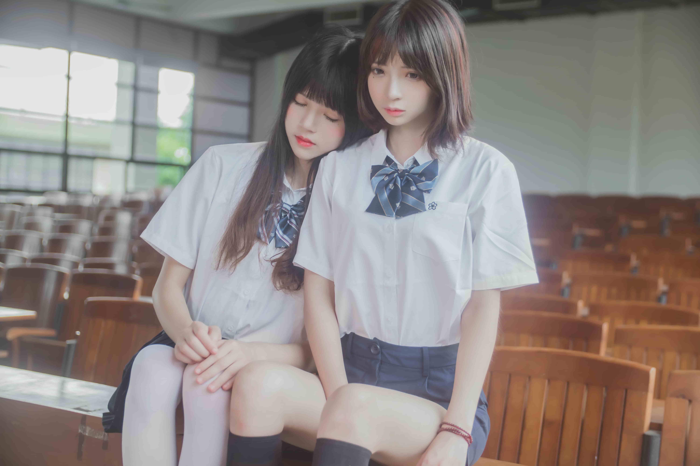 (补档)桜桃喵&疯猫ss – JK百合1[43P-324M]